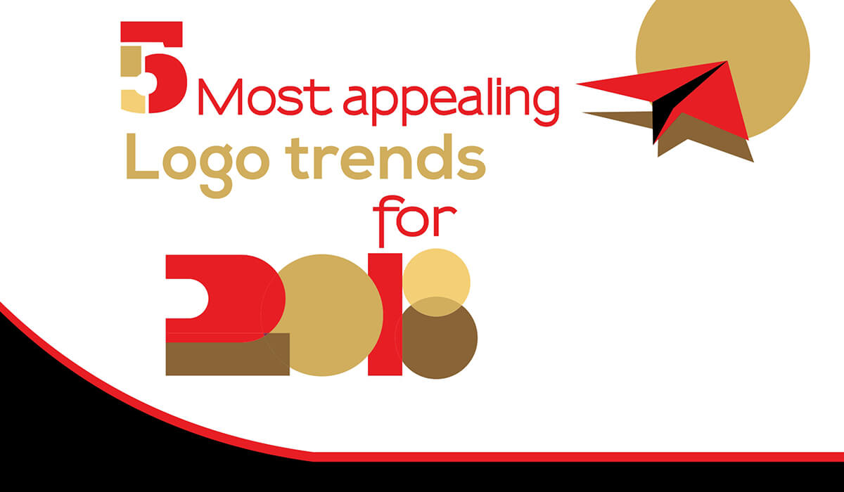 5 Most Appealing Logo Trends for 2018