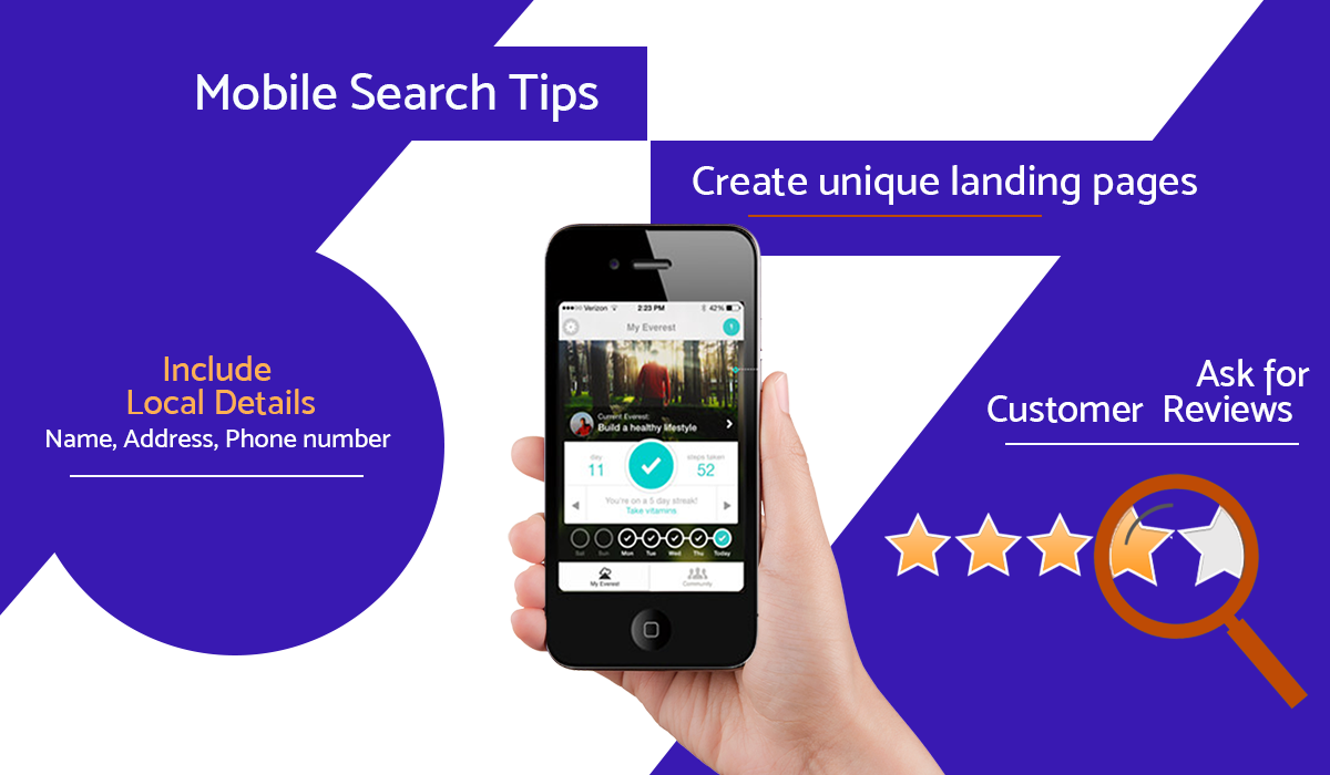 Mobile Search Tips