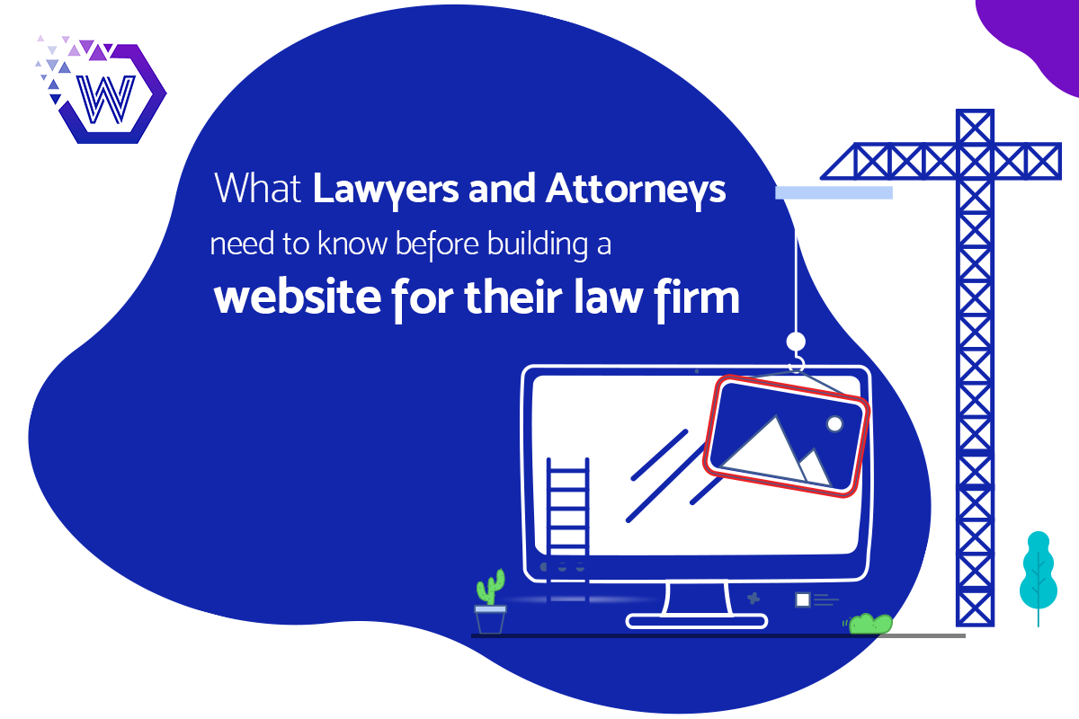 building a website for their law firm
